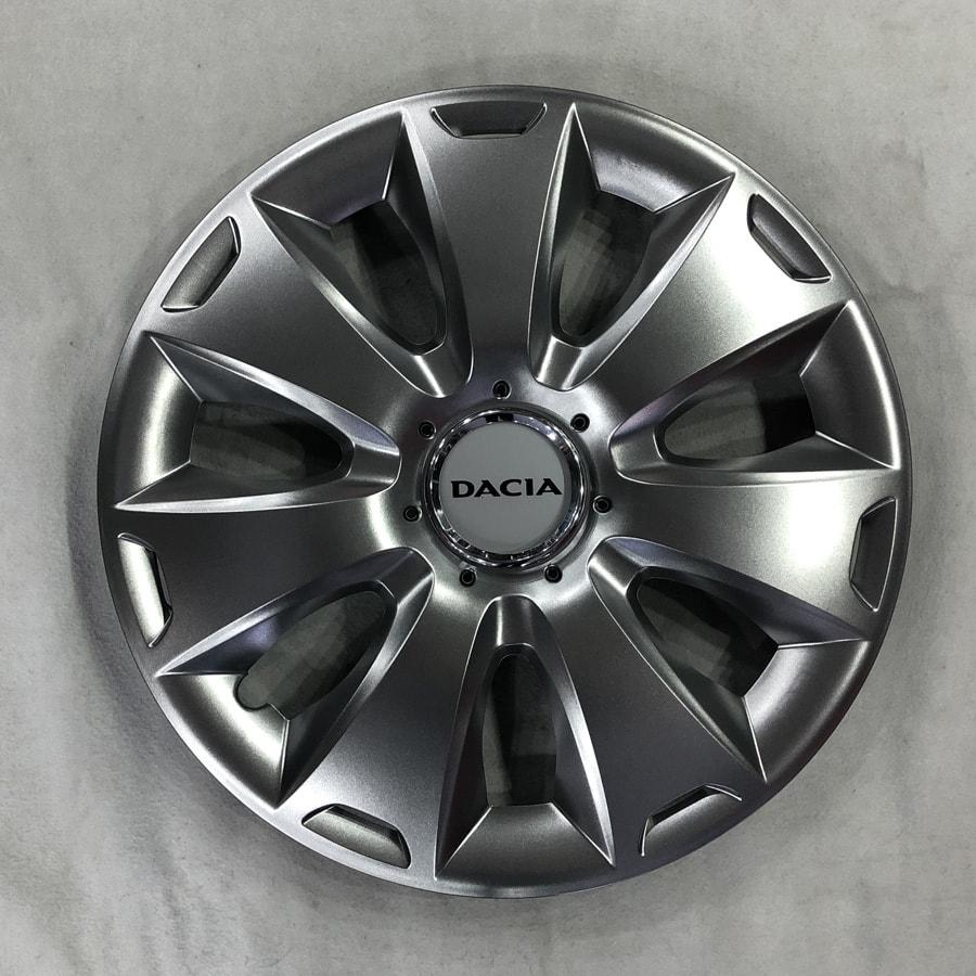 Dacia için Uyumlu Jant Kapağı 16 inc Kırılmaz Esnek 417