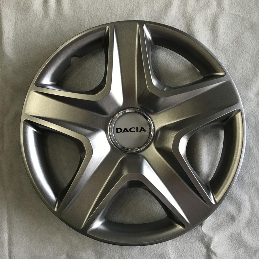 Dacia için Uyumlu Jant Kapağı 16 inc Kırılmaz Esnek 418