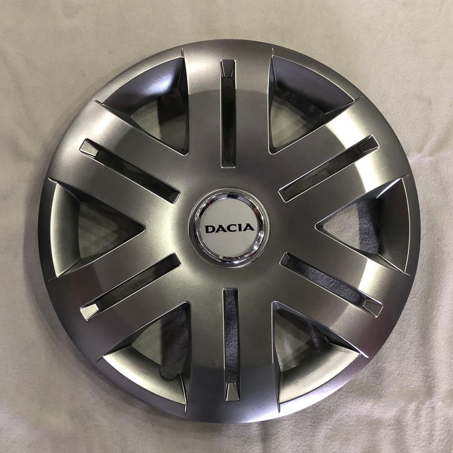 Dacia için Uyumlu Jant Kapağı 16 inc Kırılmaz Esnek 406