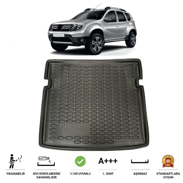 Dacia Duster 2010-2017 4x4 Uyumlu Bagaj Havuzu