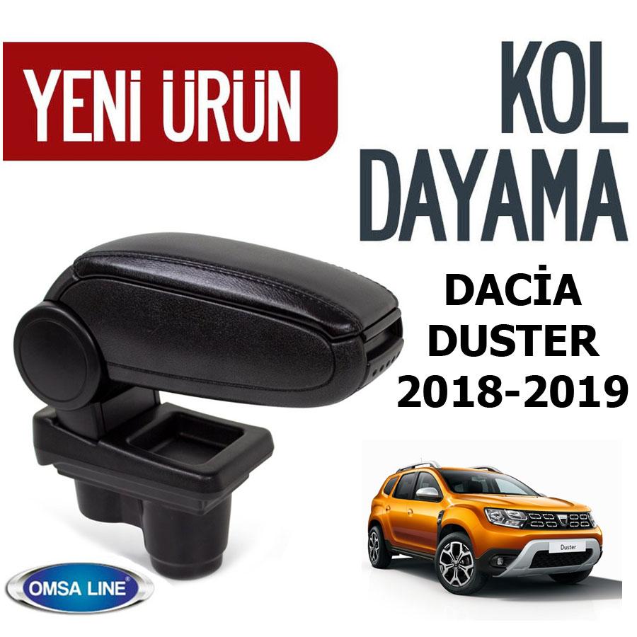 Dacia Duster Kol Dayama-Kolçak 2018-2019 Arası Siyah