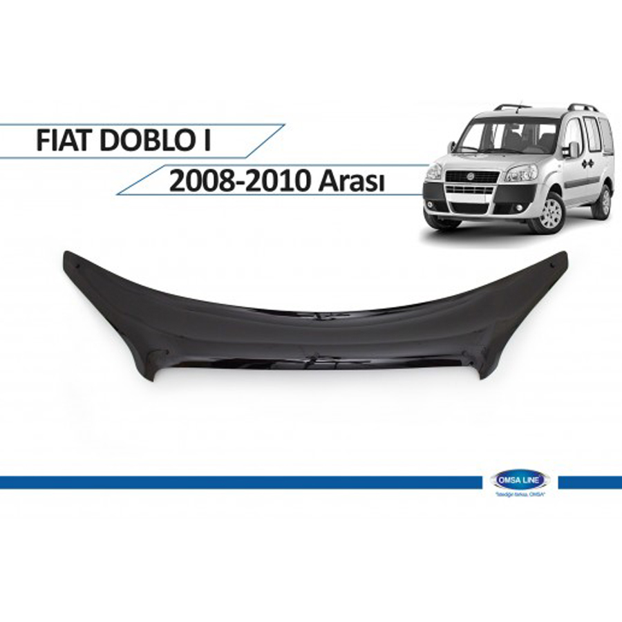 Fiat Doblo 2008 - 2010 Ön Kaput Rüzgarlığı Omsa