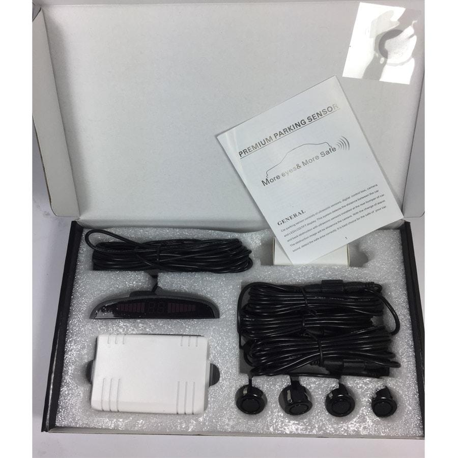 Jolly Park Sensörü Ekranlı-Türkçe Sesli 4Lü Siyah