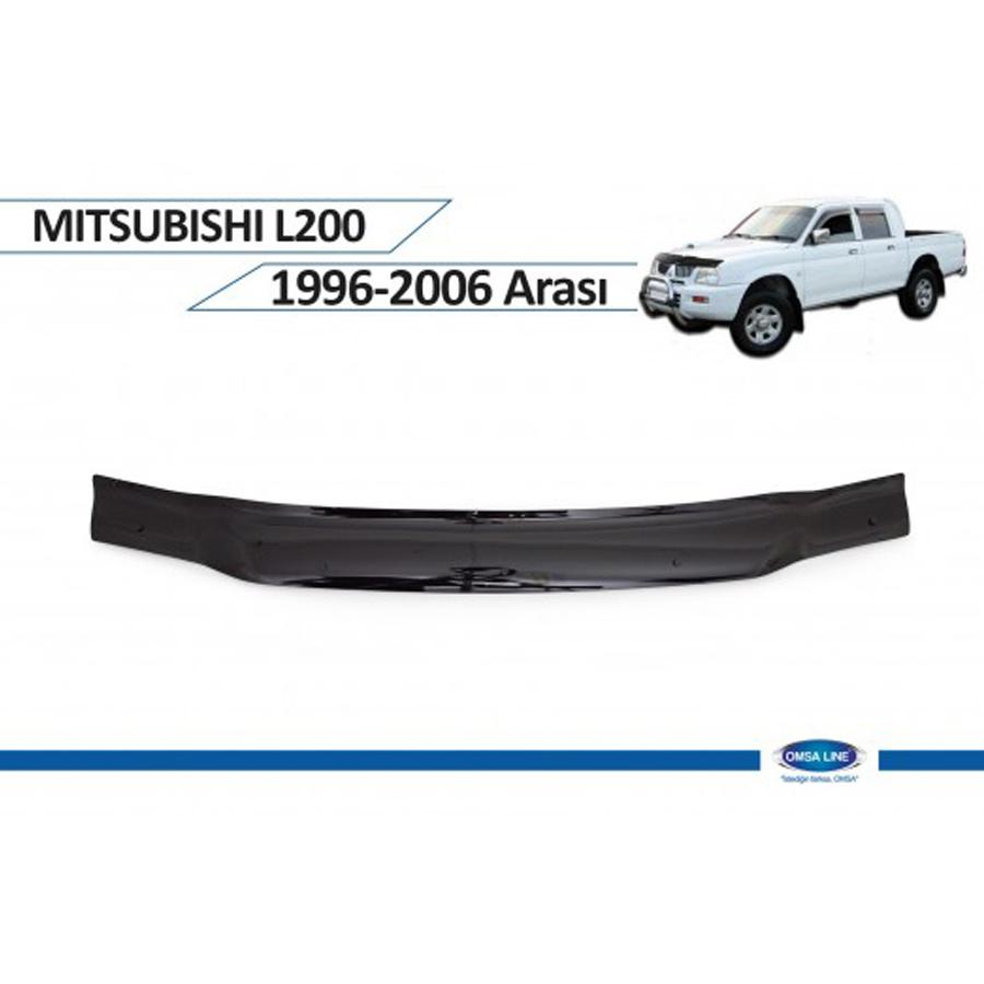 Mitsubishi L200 1996 - 2006 Ön Kaput Rüzgarlığı Omsa