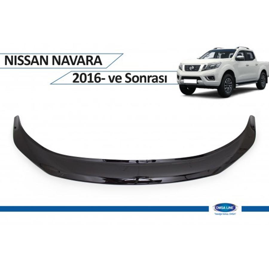Nissan Navara 2016- Ön Kaput Koruyucu Omsa