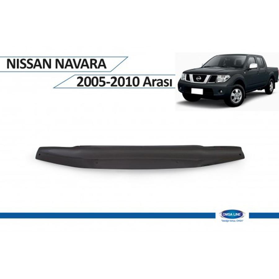 Nissan Navara 2005-2010 Ön Kaput Rüzgarlığı Omsa