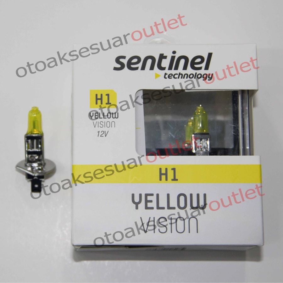 Süper Sarı Işık 12V Ampül Sentinel H1