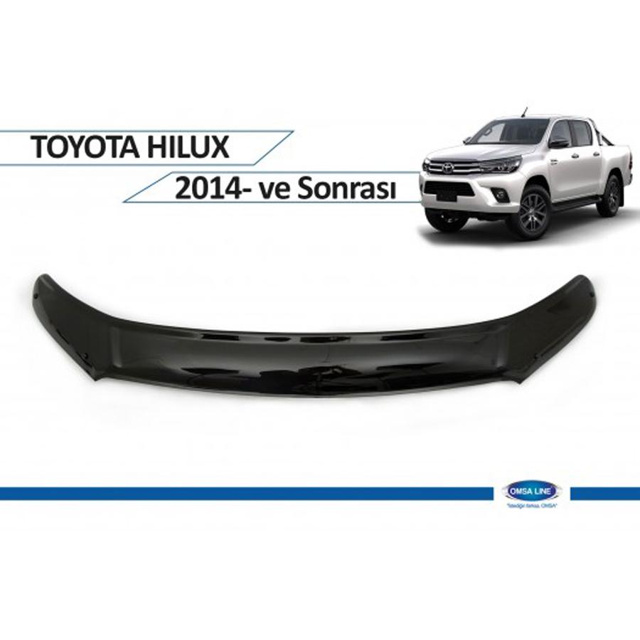 Toyota Hilux Ön Kaput Koruyucu 2014 Sonrası Omsa