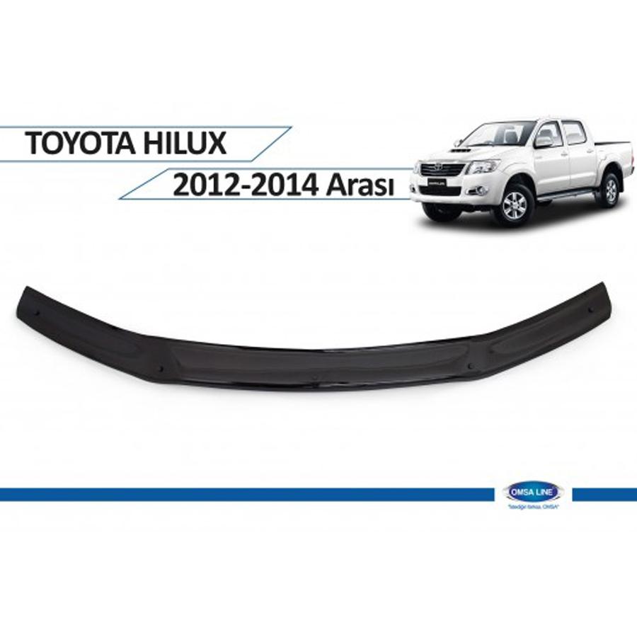 Toyota Hilux Ön Kaput Rüzgarlığı 2012 - 2014 Omsa
