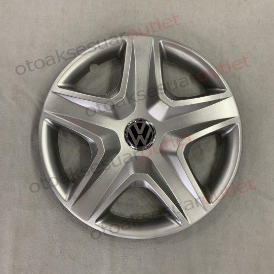 Volkswagen Jant Kapağı 16 inc (Kırılmaz) Kelepçe Hediyeli 01