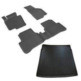 VW Passat B7  4.5D Paspas 3D Bagaj Havuzu Seti 2011-2014 Arası